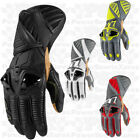 Icon Hypersport Motorcycle Glove Long