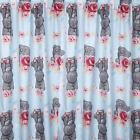 """Me to You Scrumptious Pencil Pleat Ready Made Curtains Set 54 or 72"""" Tatty Teddy"""