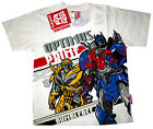 TRANSFORMERS AUTOBOTS OPTIMUS PRIME BUMBLEBEE t-shirt S-XL Age 4-8 yrs Free Ship