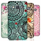 HEAD CASE DESIGNS DOODLE DOILIES CASE FOR SAMSUNG GALAXY A3 3G A300H DUOS