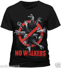 OFFICIAL The Walking Dead No Walkers T Shirt AMC Zombie Horde Infected