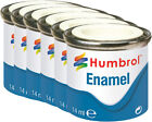 HUMBROL Enamel Paint Satin 14ml Choose Colour