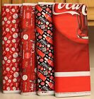 Coca Cola Bottle Panel & Coordinating Fabrics SOLD SEPARATELY bty