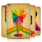 HEAD CASE COLOUR DRIPS SILICONE GEL CASE FOR APPLE iPAD MINI 3