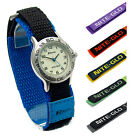 Ravel Kids Easy-Read Nite-Glo Watch Hook & Loop Sports Strap Choice of 6 Colours
