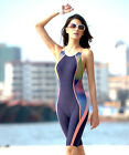 New Professional Women's Siamese Sports Sexy Halter Backless Swimsuit Swimwear