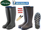 Le Chameau Michelin Ceres Neoprene wellingtons FREE BOOT JACK