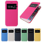 New Flip Leather View Window Skin Cell Case Cover For Samsung Galaxy S6