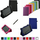 "Folio 2-Folding Case Cover+Pen for 7"" HP Slate 7 HD 3400US Android Tablet"