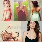 Sexy Celebrity Women Padded Bra Vest Tank Tops Bustier Crop Top Bralette Blouse