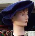 Cotton Velveteen Floppy or Flat Hat in 5 Colors & 2 sizes