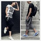 Hot! Men's Hip-hop Harem Baggy Capri Pants Crotch Collapse Sweatpants Dance - CB