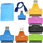 USB 3.0 To Sata Converter Adapter Cable+2.5 Inch HDD Disk Drive Box Case чехол R