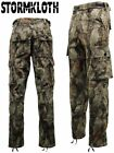Mens Nat Gear Camouflage Camo Waterproof Trousers - Hunting | Fishing - 73A