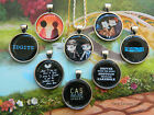 SUPERNATURAL PENDANT NECKLACE CASTIEL DEAN IDGITS SHOTGUN DESTIEL ROUND