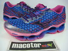 New Mizuno Wave Prophecy 3 (W) Running Womens Shoes Pink Blue J1GD140002