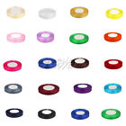"100 YD 3/8"" 10mm Organza Sheer Ribbon Craft Bow Party Supply Decor Colors U Pick"