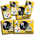 PITTSBURGH STEELERS NFL SUPER BOWL FOOTBALL LIGHT SWITCH OUTLET WALL PLATE COVER $11.69 USD on eBay