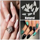 STILETTO Pointed *NATURAL* Nail Tips FAST SHIP! **YOU CHOOSE QTY!**