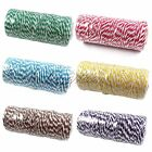 Wholesale Cotton Bakers Twine Stripe Wedding Party Roll Favour Craft Supply DIY