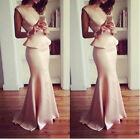 Woman Sexy Evening Party Ball Prom Gown Formal Bridesmaid Cocktail Maxi Dress