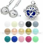 Mexican Bola Locket Pendant OM symbol Cage Harmony Chime Sound Ball DIY Necklace