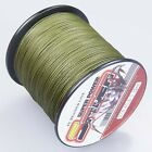 100M/300M/500M/1000M Army Green 6-300LB Dyneema100%PE Spectra Braid Fishing Line