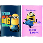 DESPICABLE ME MINION FLEECE THROW BLANKET KIDS CHARACTER BOYS GIRLS