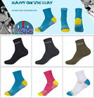 Men Women Strip Cotton Socks Running Travel Casual Athletic Sports Socks