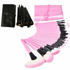 Professional 32 PCS Cosmetic Makeup Brush Set Make Up Kit with Pouch Bag Case