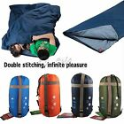 New Outdoor Envelope Camping Sleeping Bag Travel Hiking Multifuntion Matress