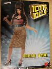 Amy Winehouse Style Rehab Ladies Fancy Dress Hen Halloween Party Costume Outfit