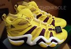 ADIDAS CRAZY 8 BASKETBALL SNEAKER G24829 KOBE ALL STAR GAME YELLOW LA LAKERS