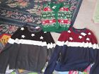 NWT Mens Ugly Christmas Sweater Vest or Fourth of July Flag Sweater M L