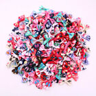 wholesale pet dog hair bows clips /rubber bands pet grooming hair bows accessorie