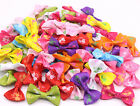 wholesale pet dog hair bows clips/rubber bands pet grooming hair bows accessorie