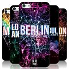 HEAD CASE DESIGNS CITY LIGHTS HARD BACK CASE FOR APPLE iPHONE 5C