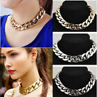 Fashion Jewelry Chunky Statement Chain Pendant Braided Necklace Bib Choker Gift