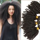 3 Bundles/300g Virgin Brazilian Afro Kinky curly Weave Human Hair Extension Weft