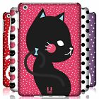 HEAD CASE DESIGNS CATS AND DOTS HARD BACK CASE FOR APPLE iPAD MINI