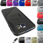 FOR SAMSUNG GALAXY S6 S 6 EDGE / ACTIVE TPU HARD GEL SKIN CASE COVER+STYLUS/PEN