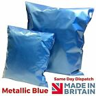 Blue Metallic Mailing postal packaging bags