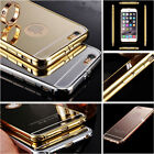 NEW Luxury Aluminum Ultra-thin Mirror Metal Case Cover for Apple iPhone 6/6 Plus