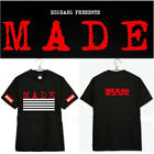 KPOP Bigbang New Album MADE T-shirt  G-Dragon GD Tshirt Cotton Short Sleeve Tee