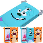 3D Silicone Tiger Cute Cartoon Grin Cat Monster Case Cover For LG G2 / LG G3