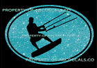 VRS OVAL Kitesurfing Standing Kite Surf Board Surfing CAR DECAL METAL STICKER
