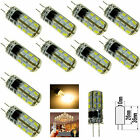 1X/10X 3W 5W G4 Led Bulbs Replace Halogen Bulb 3014 SMD Light Lamps DC12V/AC220V