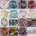 Jewelry Multi-color 10X30MM Mother Of Pearl Shell Loose Beads Free Shipping
