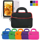 "Portfolio Sleeve Cover Handle Carry Case Bag For IRULU eXpro X1s 10.1"" Tablet PC"