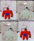 Lot Mixed Big Hero 6 Double sided Rubber Key rings Key Chain Party Gifts S29